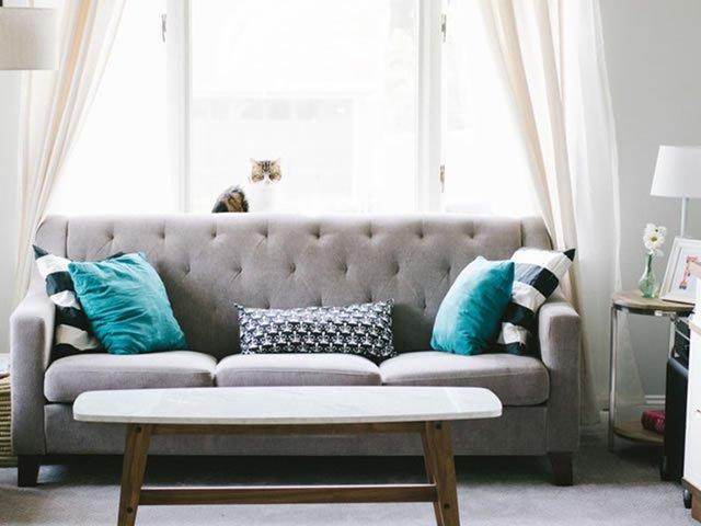 sala de estar aconchegante