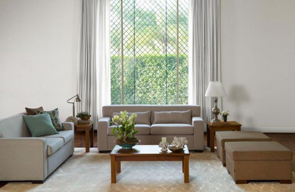 cortina grande para sala